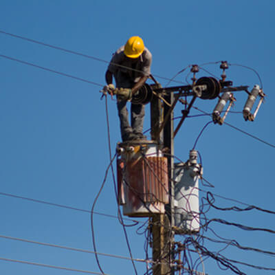 Working on a Powerline